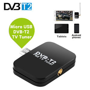 USB DVB-T2TV Receiver Stick for Android Phone Tablet Watch Free Online Digital TV without Wi-Fi