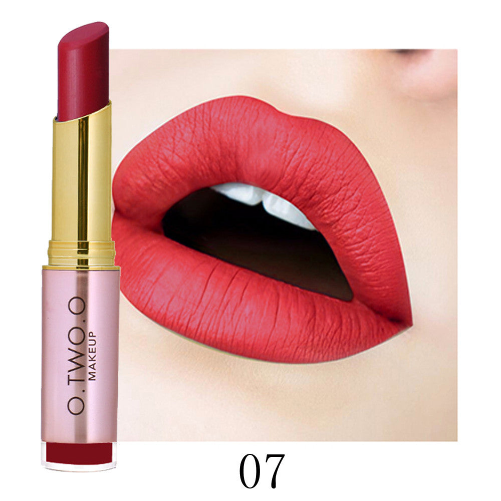 Ladies Beauty Makeup Waterproof Sexy Lipstick Hydrating Long Lasting Lipstick