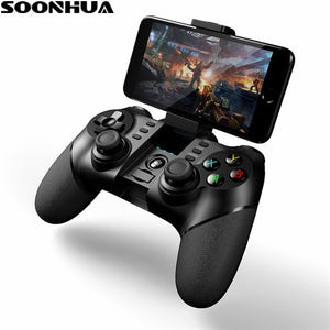 SOONHUA Wireless Bluetooth Game Controller Remote For iphone Android Phone Tablet PC Gaming Controle Joystick Gamepad Joypad