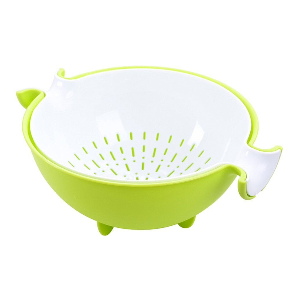2-in-1 kitchen Strainer/Colander & Bowl Sets