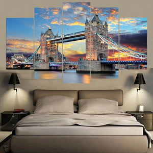 London Famous Building Landscape Canvas 3 PCS Set