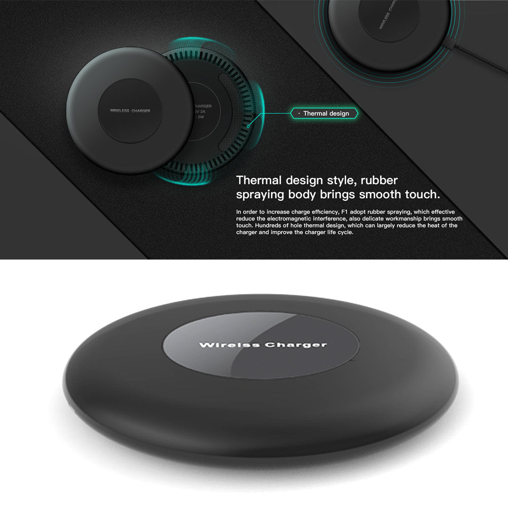 10W Wireless Quick Charging Pad