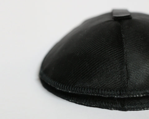 Rounded Black Shoulder Pad with Velcro Strip