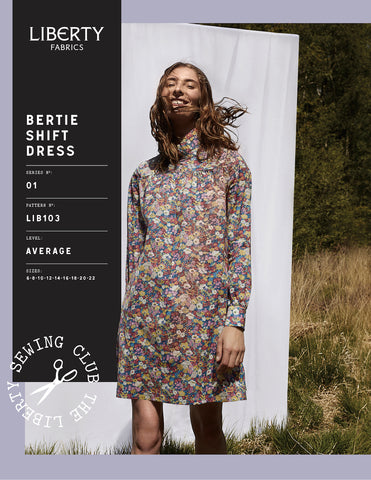Bertie Shift Pattern by Liberty Fabrics