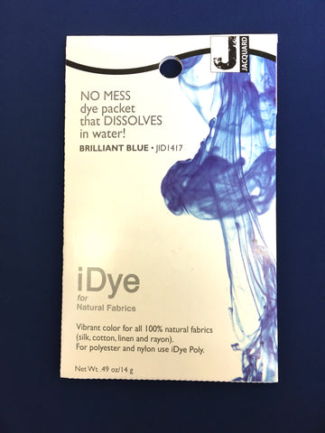 iDye for Natural Fabrics - Brilliant Blue