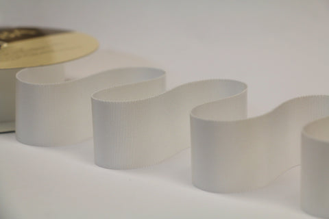 40mm Grosgrain Ribbon - Ivory