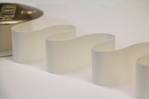 40mm Grosgrain Ribbon - Cream