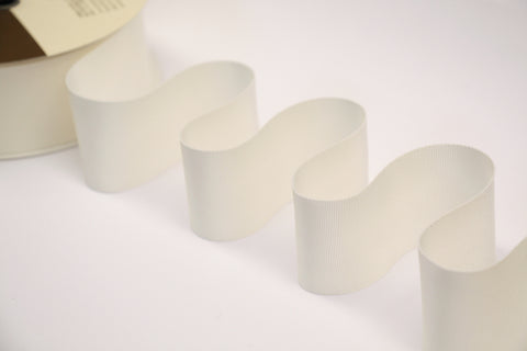 50mm Grosgrain Ribbon - Cream