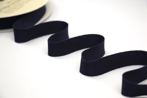 20mm Grosgrain Ribbon - Navy