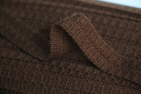 22mm Wool Binding - Tan