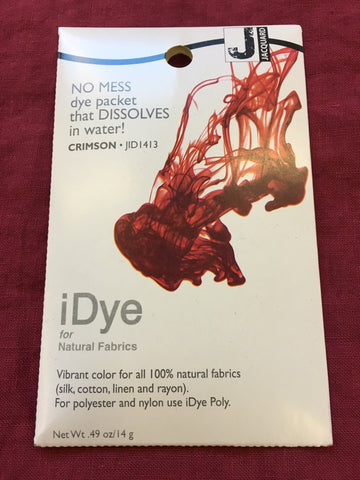 iDye for Natural Fabrics - Crimson