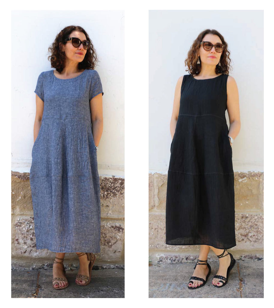 Eva Dress Pattern (Extended Sizes 18, 20 and 22) Patterns