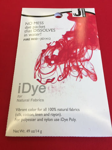 iDye for Natural Fabrics - Fire Red