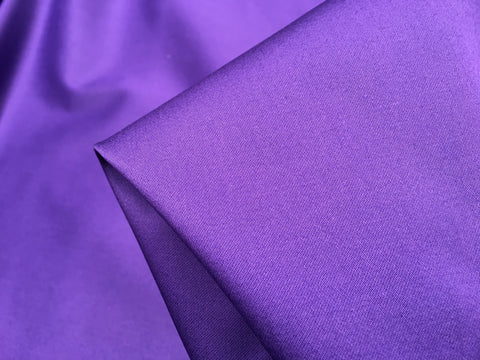 Stretch Cotton - Royal Purple