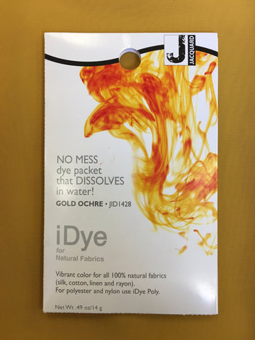 iDye for Natural Fabrics - Gold Ochre