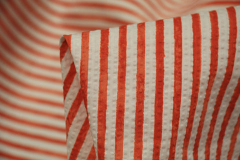 Orange Ripple Stripe