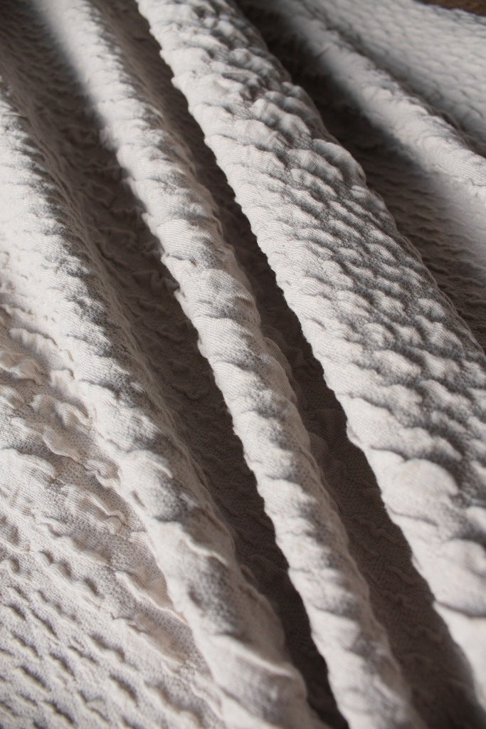 Almond Paste Rough Double Knit Sold Out Tessuti