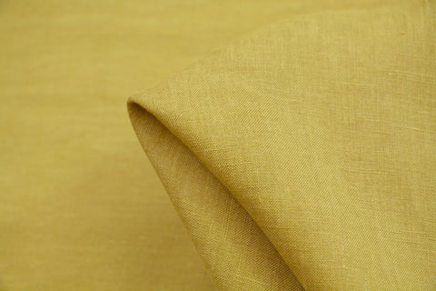Linford Citrine Washed Linen