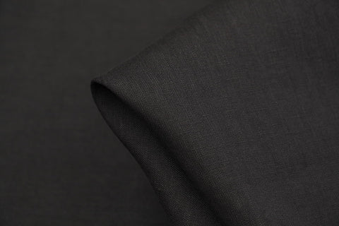 Linford Black Washed Linen