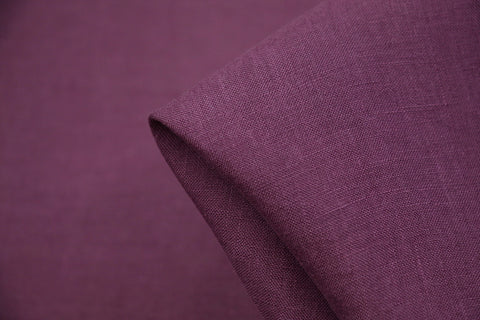 Linford Grape Washed Linen