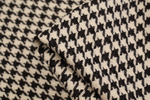 """Black /& White /& Green Geometric Polyester Satin Soft Fabric 60/"""" Wide by Metre"""