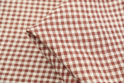 Coco Check Washed Linen