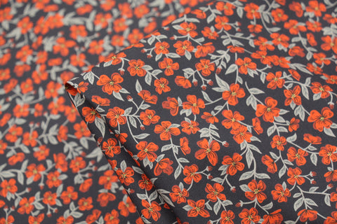 Peach Blossom Poplin - Liberty Fabric