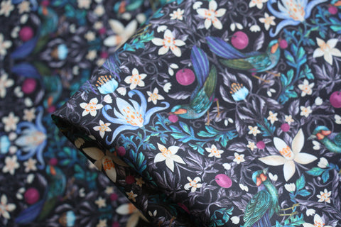 Forbidden Fruit Blue - Liberty Tana Lawn™