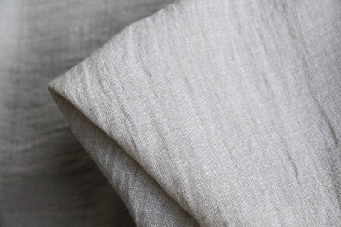 City Natural Washed Linen Gauze