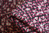 Crepe De Chine Silk: Kinetic Pink - Liberty Silk CDC
