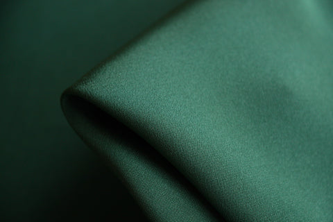 Just Green Silk Faille