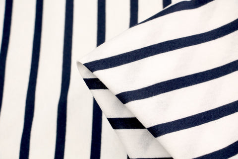 Mimasu Wide Line - Navy Stripe