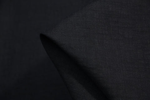 Linton Navy - Bonded Linen/Cotton