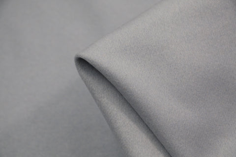 White Polyester Crepe Fabric  115cm Wide