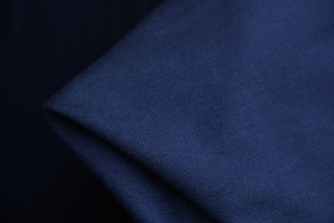 Bamboo Jersey Knit - Navy (250gsm)