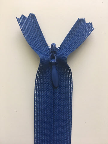 "Invisible Zipper 25cm (10"") - Midnight Blue"