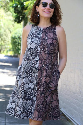 Bondi Dress Pattern (Extended Sizes 18-20-22)