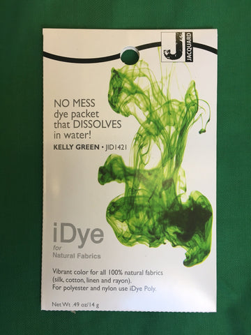 iDye for Natural Fabrics - Kelly Green