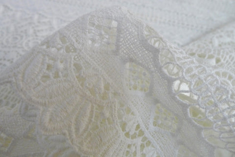 Lavern Cotton Guipure Lace