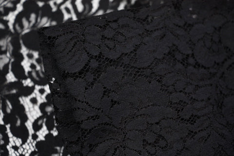 Black Designer Lace
