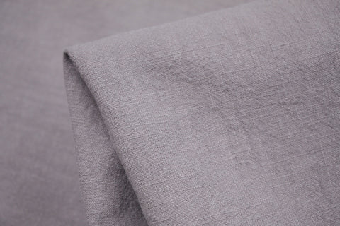Taupe Pebble Wash Linen