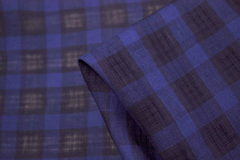 Vivien Blue Small Check