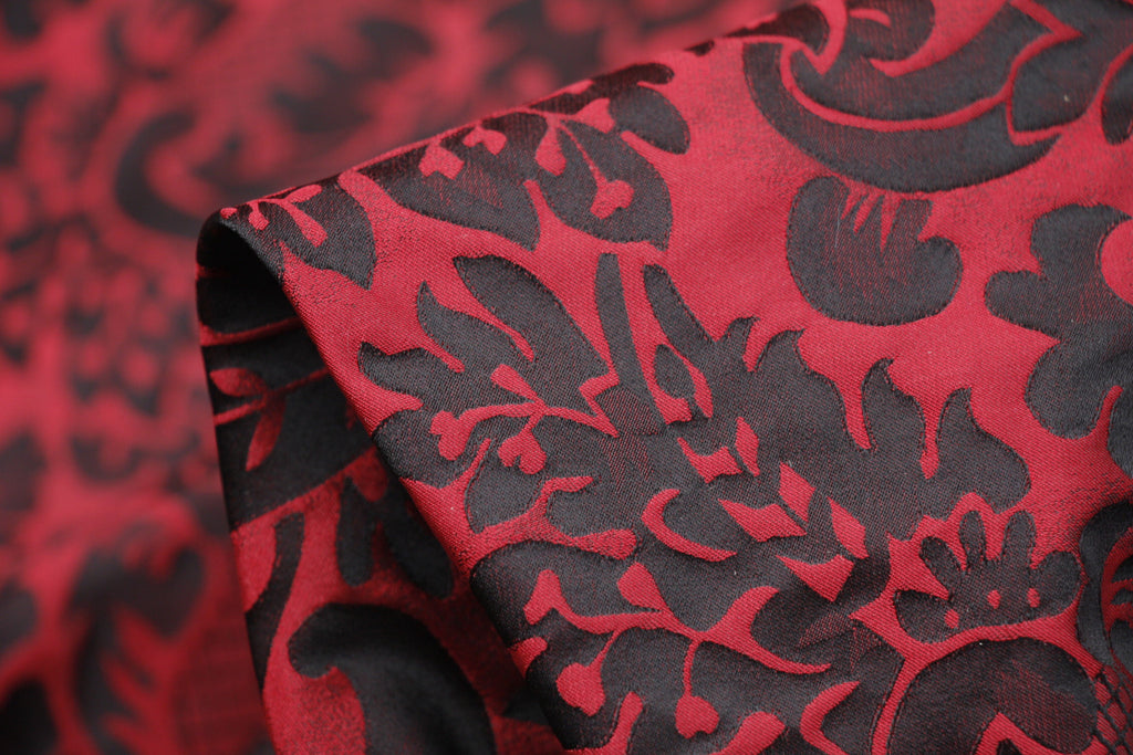 5 COLOUR-STRETCH JACQUARD FABRIC-SOLD BY THE METER