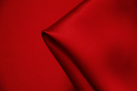 Red Silk Satin 22mm