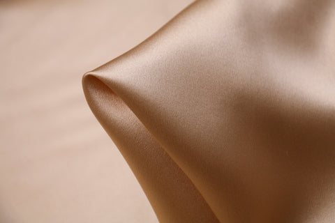 Nude Silk Satin 22mm