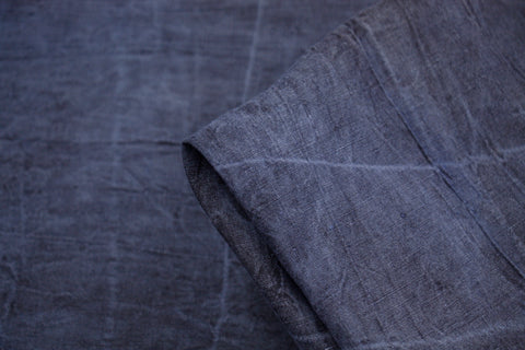 Denim Crush Washed Linen