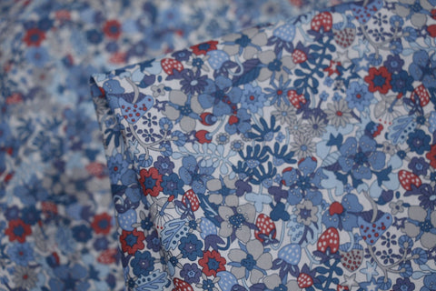 Blue Flower Tops -  Liberty Of London