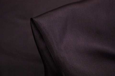Charcoal Silk Habutai