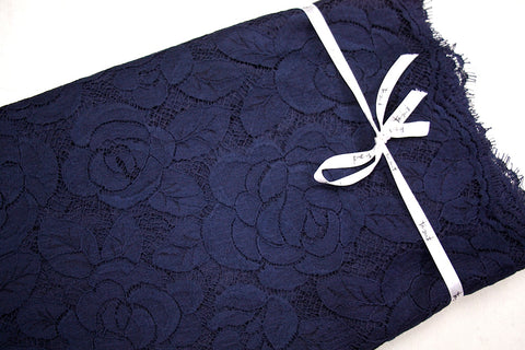 French Navy Lace