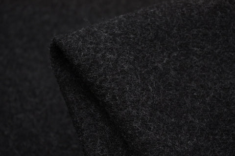 Charcoal Tepore Marle - Boiled Wool